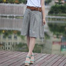Женская юбка лето осень высокая талия плиссированная юбка эластичная талия винтажная юбка миди юбки женские LY128