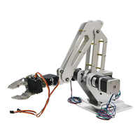 3dof Industrial Robotic Arm with Motor for Writing, Laser Engraving, 3D Printer, Color Recognition
