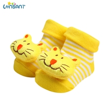 LONSANT Baby Socks Rubber Anti Slip Floor Cartoon Kids Toddlers Autumn Spring Fashion Animal Newborn Cute 0-6-12month N30