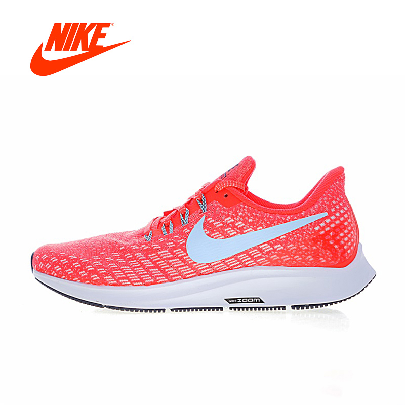 Original New Arrival Authentic Nike Air Zoom Pegasus 35 Men's Comfortable Running Shoes Sport Sneakers Good Quality 942851-600 original new arrival authentic nike zoom span women s running shoes sport outdoor sneakers good quality comfortable