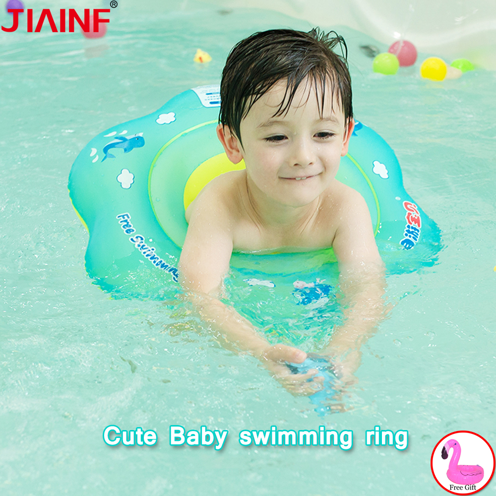 Baby Swimming Ring Seat Inflatable Circle Ring For Bathing Newborns Swimtrainer Bathing Circle For Children