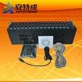 16 Портов GSM/GPRS Модемный Пул С Оригинальным Интерфейсом Wavecom Q2403A USB бесплатное программное обеспечение смс смс ussd stk пополнение системы