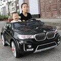 Yamala cuatro niños paseo eléctrico en el coche de juguete bebé coche cochecito de bebé niño puede sentarse control remoto electric cars