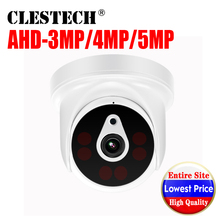 6.28BigSale CCTV AHD Camera 5MP 4MP 3MP 1080P FULL Digital HD 5.0MP indoor 6Led Array infrared ircut night vision Security Video