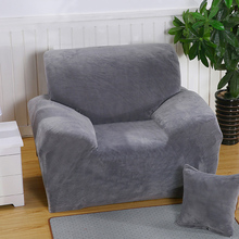 1/2/3/4-Seater Plush Elastic Slipcover