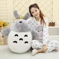 big plush lovely Totoro toy large stuffed classic expression totoro doll gift about 90cm 0361