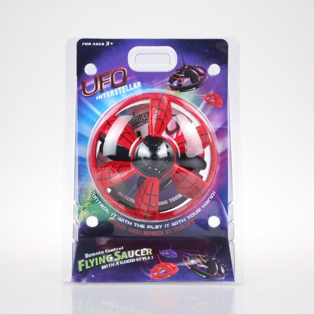Магия НЛО Инфракрасный Сенсор игрушки без пульт дистанционного управления летающая тарелка трюк ручной парение летающий диск открытый игр...