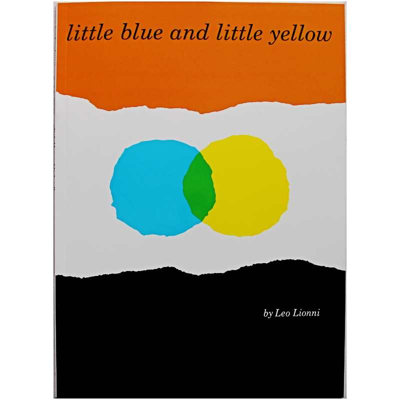 Little Blue and Little Yellow By Leo Lionni Educational English Picture Book Learning Card Story Book For Baby Kid Children Gift