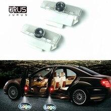 купить JURUS 2X Led For Infiniti FX G M EX QX Auto Car Light Door Logo Projector Lamp Courtesy Laser Ghost Shadow Welcome Light по цене 574.17 рублей