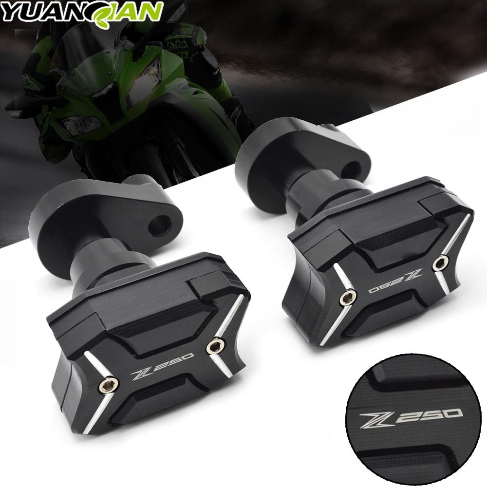 For KAWASAKI Z250 Z250 Z 250 2011-2015 2014 2013 2012 Motorcycle Body Frame Sliders Crash Protector Falling Protection Z250
