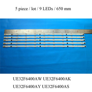 Image 4 - LED Backlight Strip For Samsung UE32F6400 UE32F6400AK UE32F6400AY UE32F6400AW UE32F6400AS TV LED Backlight Bar Replacement Strip