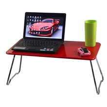 New 15inch Laptop Desk Bed Folding Laptop Stand Computer Desk Multi-function Lazy Lapdesks College Student Dormitory Table