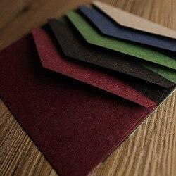 22*11 см винтажные Ретро цветные пустые конверты из крафт-бумаги приглашение на празднование свадьбы конверт поздравительные открытки Подар...