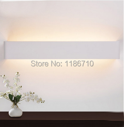 53cm modern wall lamp contracted LED wall lamp sitting room the bedroom wall light contains LED light source is free shipping