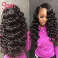 Gem Beauty Supply Brazilian Loose Wave 3 Bundles 7A Brazilian Virgin Hair Loose Wave Mink Brazilian Hair Curly Weave Bundles 1B