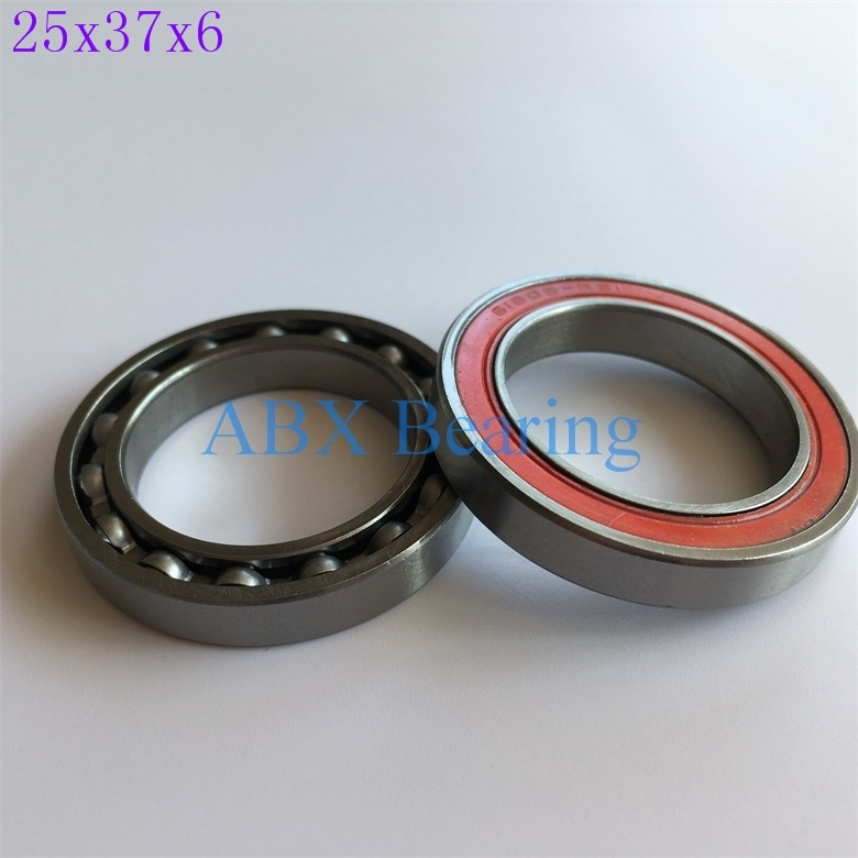 50pcs 6805N-<font><b>RS</b></font> <font><b>6805</b></font> 61805 6805N <font><b>6805</b></font>-RD 25376 ball bearing 25x37x6mm bike bottom bracket repair bearing for HT2 BB51 GCR15 BB86 image