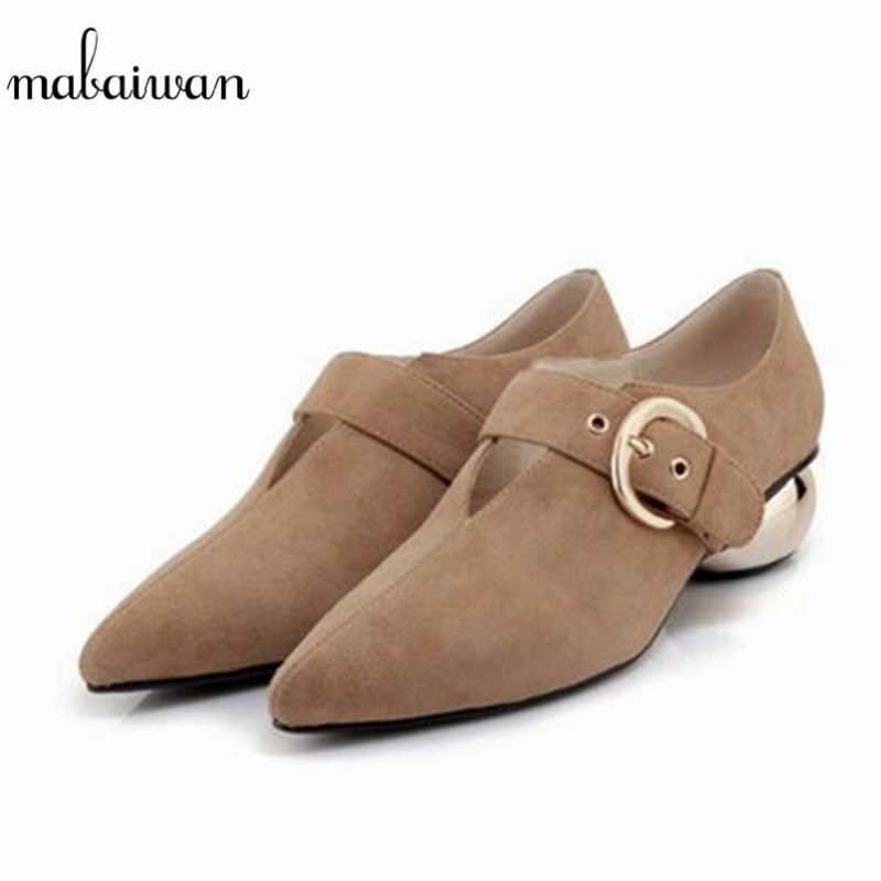 Mabaiwan New Fashion Casual Women Shoes Sexy Rome V Pointed Toe High Heels Buckle Wedding Dress Shoes Woman Pumps Ankle Boots