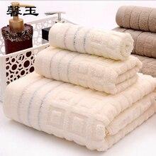 3 шт./компл. 70*140 см полотенца пляжное полотенце из чистого хлопка полотенца для ванной супер мягкие банные полотенца для взрослых