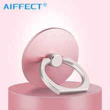 AIFFECT Smartphone Stand Finger Ring Holder For iPhone Samsung Xiaomi Mobile Phone IPAD MP3 Car Mount Stand.