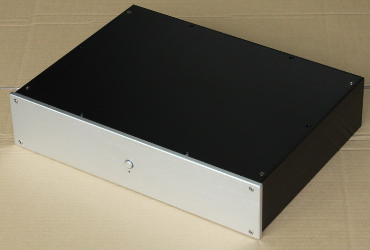 case size:425*92*310mm WA51 Full aluminum amplifier chassis/Pre-amplifier/DAC Decoder housing /AMP Enclosure/amp case/DIY box full aluminum pass amp enclosure case amplifier chassis diy box 220 90 310mm