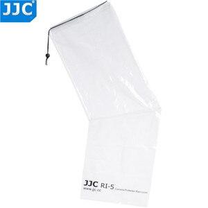 Image 3 - JJC 2PCS Wasserdichte Regenmantel Regen Abdeckung Fall Tasche Protector für Canon EF 24 70mm 1: 2,8 L USM Nikon SIGMA TAMRON DSLR Kameras