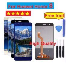 Для Huawei Honor 8 ЖК-дисплей Дисплей Сенсорный экран планшета Honor8 для Huawei Honor 8 ЖК-дисплей с рамкой FRD-L19 FRD-L09 Экран Замена