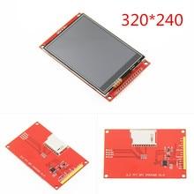 3,2 дюймов 320*240 SPI серийный TFT ЖК модуль, экран дисплея с драйвером сенсорной панели IC ILI9341 для MCU