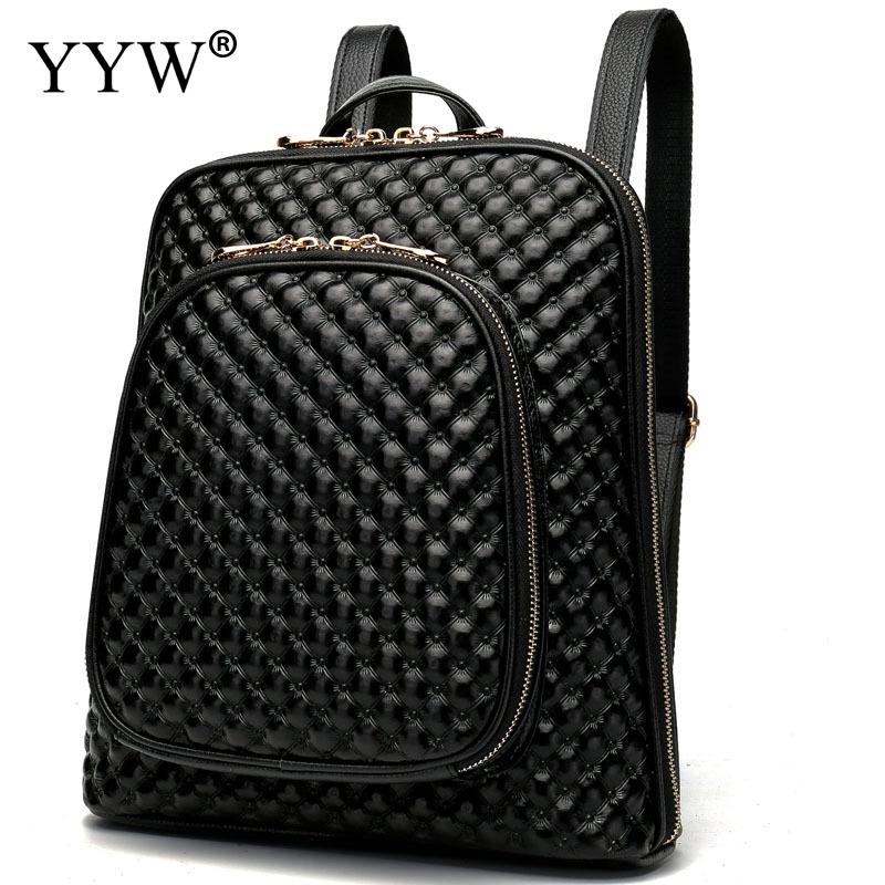 Brand Black 3D PU Leather Backpack Female Red Backpacks for Adolescent Girls Women Blue Spliced Casual Small School Shoulder Bag new personality 3d skull leather small bag women backpack female shoulder bag school bags for teenagers girls casual travel bag