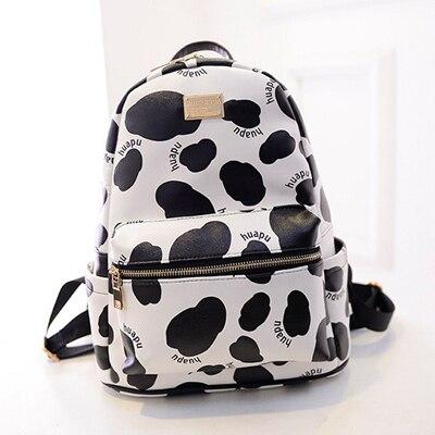 Teenage School Bags For Girls 2015 New Designer Backpacks Milk Cow ...