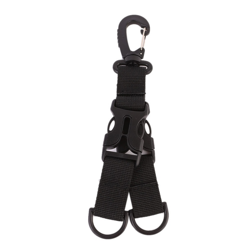 Outdoor Tourism Climbing Carabiner Backpack Hook Multi Keychain Camping Double-split Mountaineering Equipment Carabiner For Keys