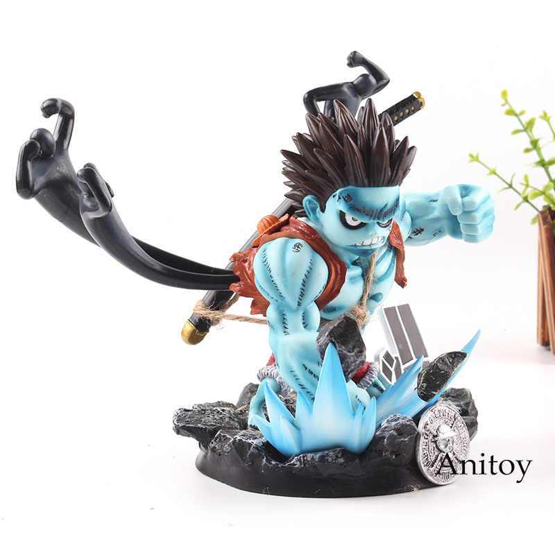 One Piece Luffy Pesadelo Estatueta GK Monkey D Luffy PVC One Piece Luffy Action Figure Toy Presente Coleção Modelo