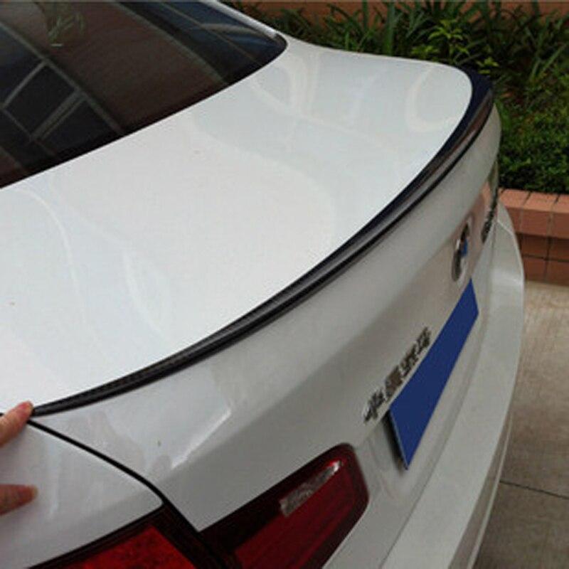 Ф10 М5 Стиль углеродного волокна автомобилей задний багажник спойлер крыло для БМВ Ф10 2010-2015