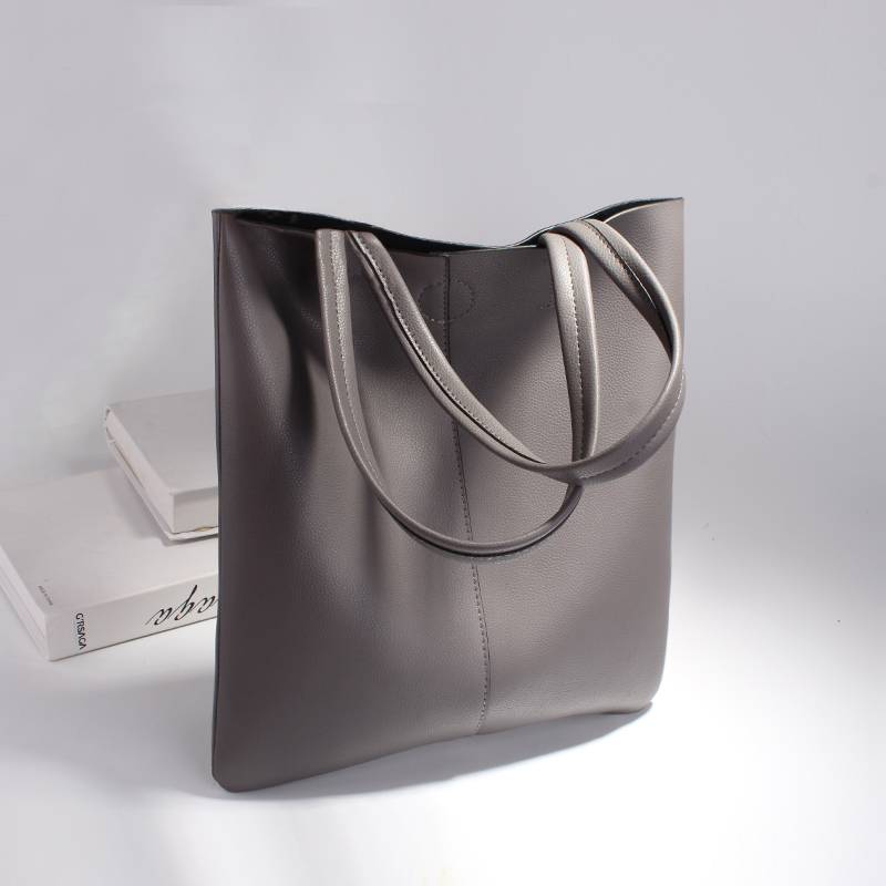 Nigedu bolsa de couro genuíno feminina bolsa