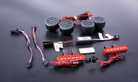 LED Light Set Front Lamp Headlight Rear Tail Light for 1/5 Scale Rovan LT Losi 5ive t DDT 5T Rc Car Parts Truck