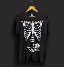 f6103f7b49ba6 Baby Skeleton Halloween T Shirt Funny Trick Or Treat Bones X-Ray Mother  Gift New