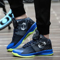 Men's Women's   Basketball     Shoes   Sneaker PU Breathable outdoor Athletic Sport boots Sneakers For Male   Basketball     Shoes