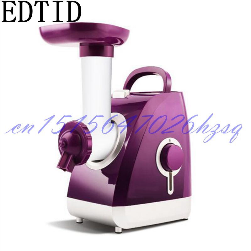 EDTID 200W Household Electric Automatic Healthy Ice Cream Maker supplementary food for infant and Sorbet Maker Machine edtid portable automatic ice maker household bullet round ice make machine for family small bar coffee shop 220 240v 120w eu us