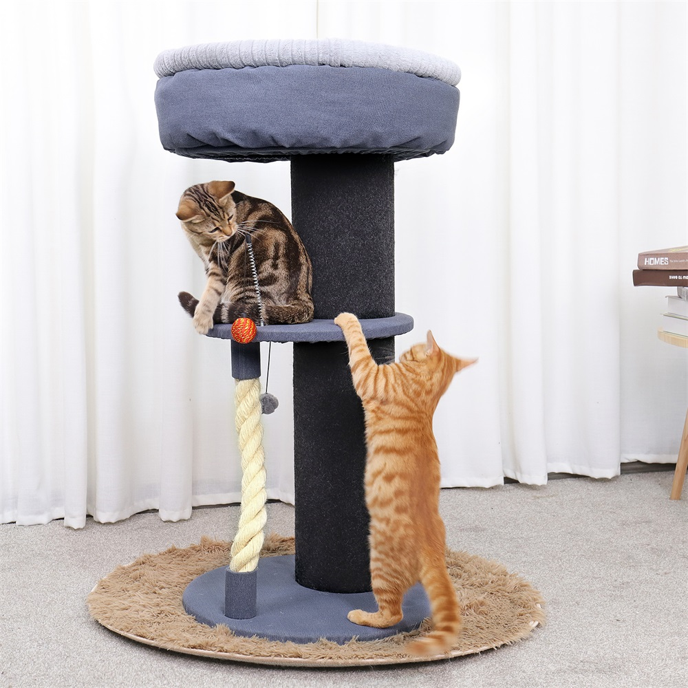 Fast Delivery Cat Furniture Cando With Cat Sleeping