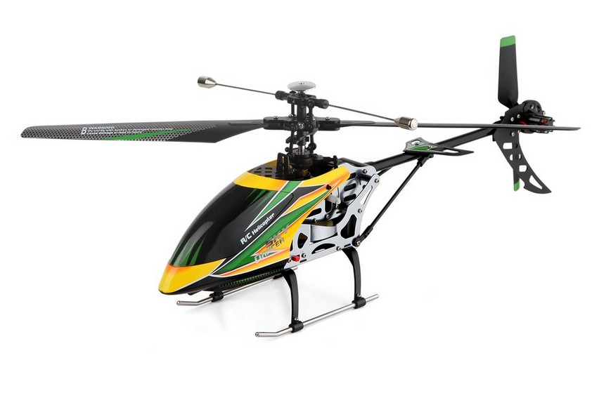 Parkten Wltoys Hot sale V912 helicopter 2.4GHz  4 Channel Single Blade RC Drone With Head Lamp  Light RC Quadcopter