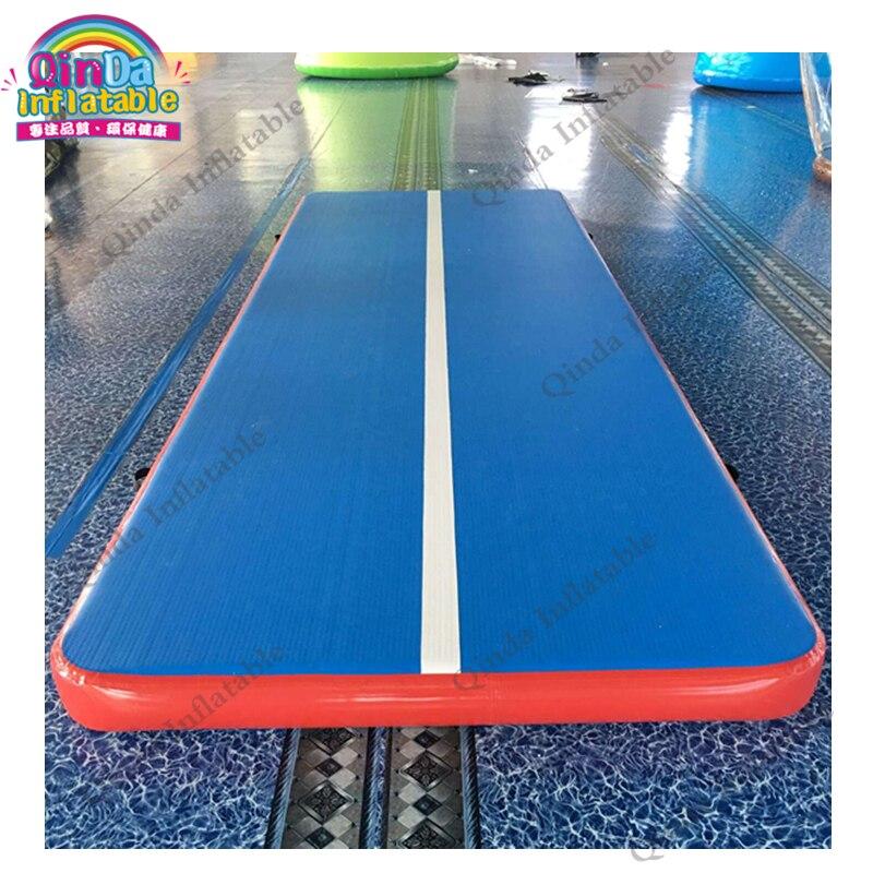 Piste gonflable de dégringolade d'air de tapis gonflable de gymnase de la qualité supérieure 20ft à vendre