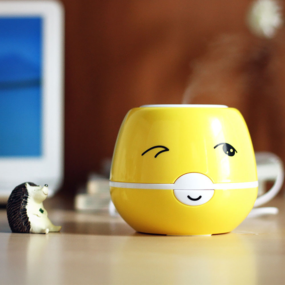 Mini Cute Cartoon USB Aromatherapy Air Humidifier Ultrasonic Essential Oil Aroma Diffuser Home Office Mist Maker Air Purifier cute mini whale design usb portable air humidifier ultrasonic cartoon essential oil aroma diffuser home office mist maker fogger