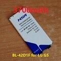 3700 мАч BL-42D1F Мобильный Телефон Использование Батареи для LG G5 H868 H860N H860 F700K H850 H820 H830 VS987