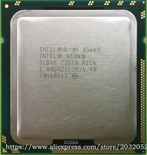 Intel xeon x5660 12 m cache/2.8 ghz/6.40 gt/s intel lga1366 qpi pulpit cpu (pracy 100% free shipping)