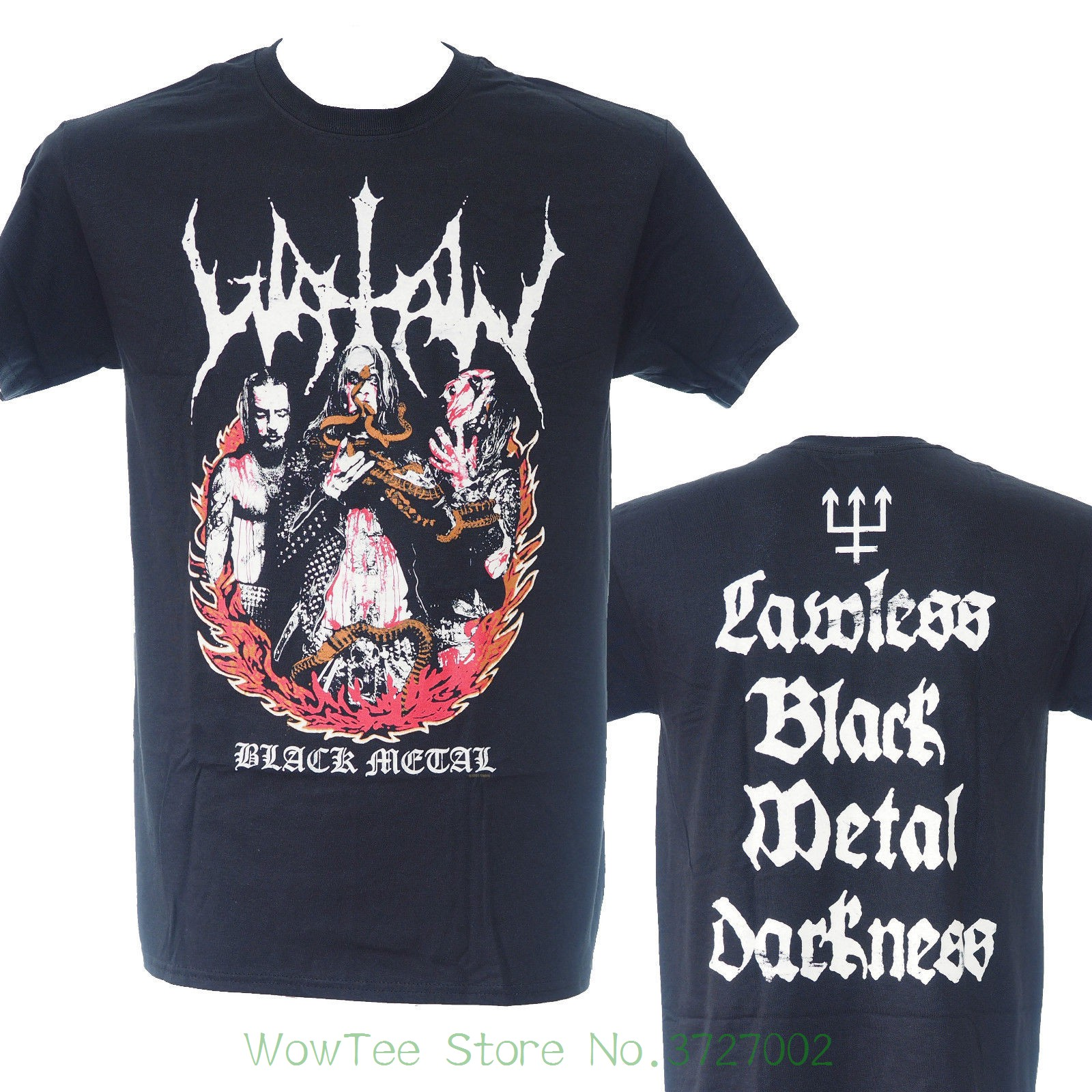 d4901917 Watain - Lawless - Official Licensed Metal T-shirt - New S M L Xl 2018 New