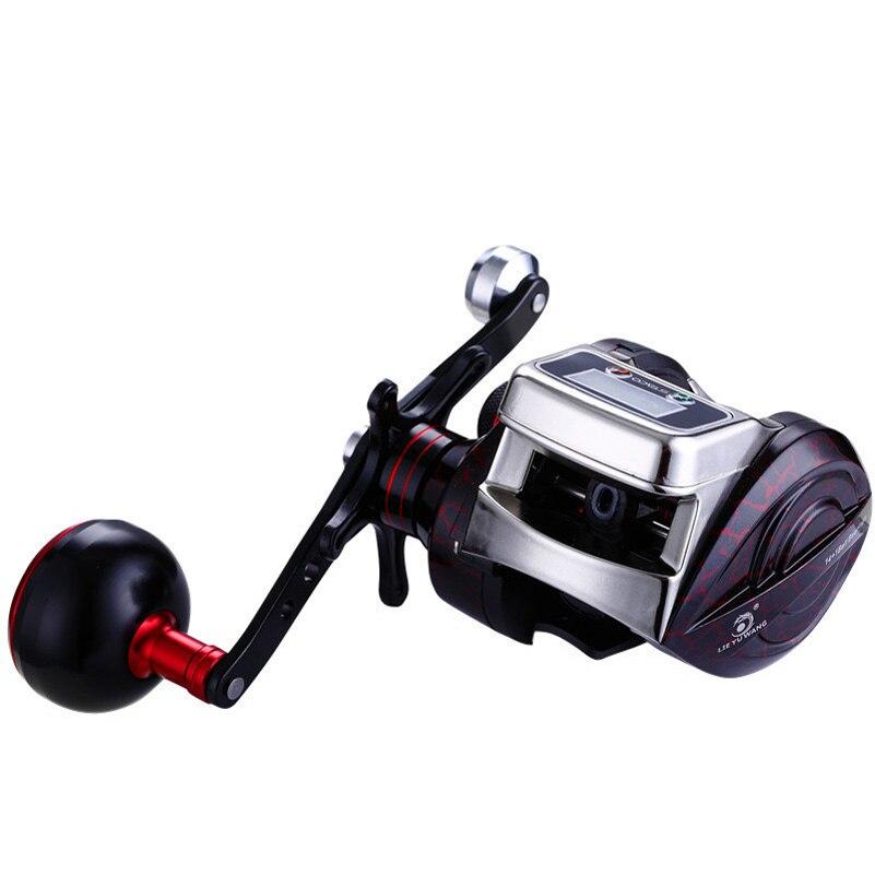 yuyu carretel de pesca baitcasting carretel contador 02