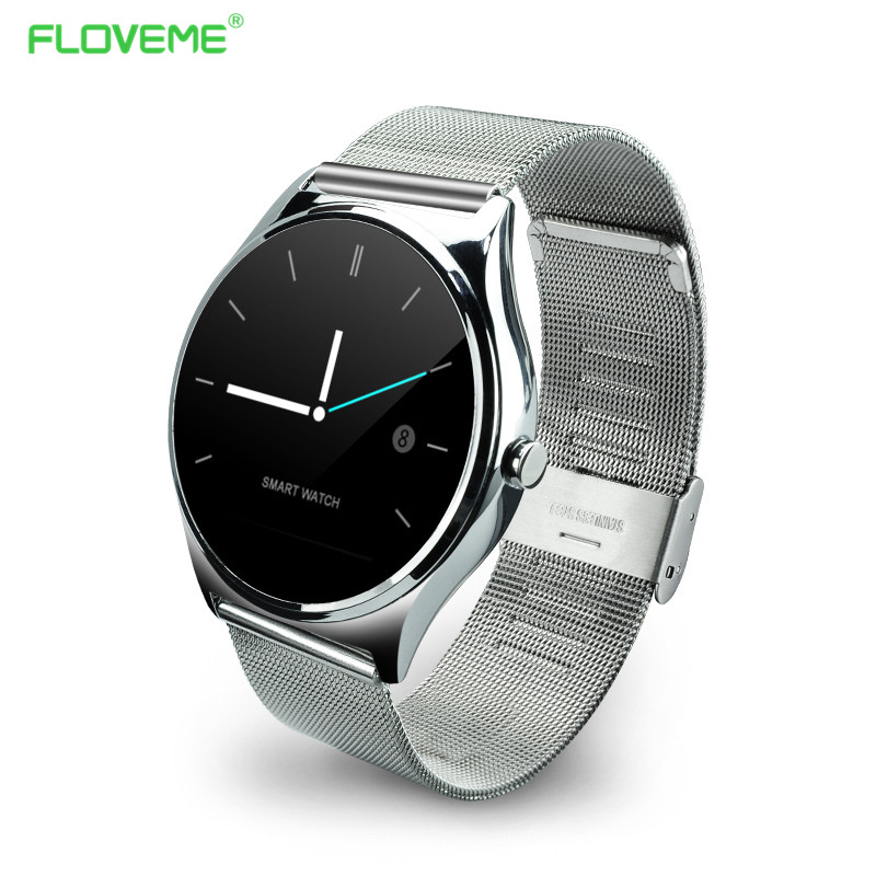 ФОТО FLOVEME Sport Smartwatch Bluetooth Smart Wacht For iOS Android Anti-lost Women Man Sync Smart Watch For iPhone Samsung Phone