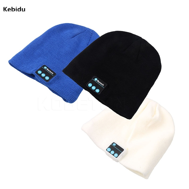 Bluetooth Wireless headphones Music hat Smart Caps Headset earphone Soft  Warm Beanies winter Hat with Speaker Mic for Sports caf25692d78c