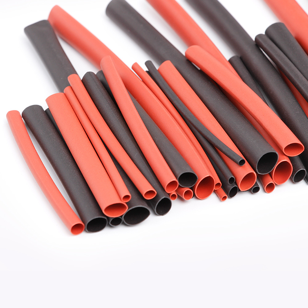 42pcs electronic accessories assorted black red heat shrink tube rh aliexpress com engine wiring heat wrap Ear Wraps