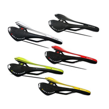 цены Ultra Light Hollowed Cushion 3K Full Carbon Fiber Bicycle Saddle Cushion for Mountain Road Bike Saddle Bicycle Parts