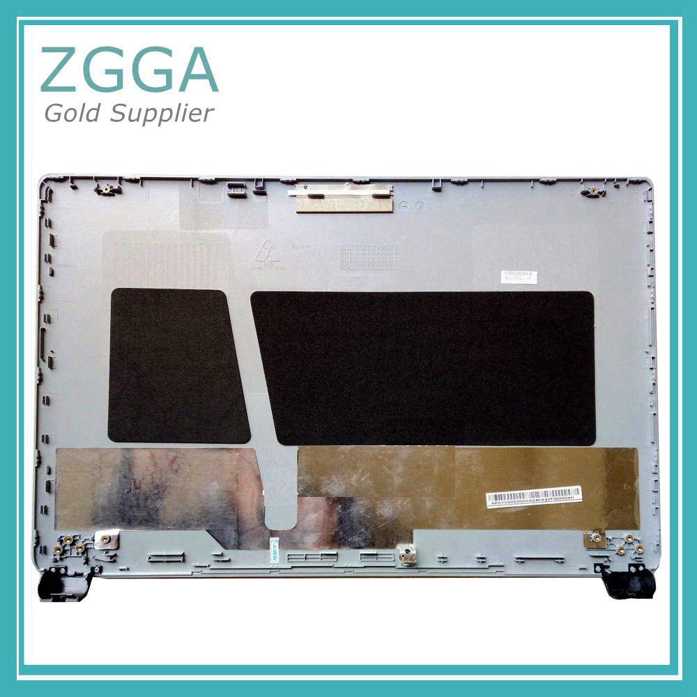 New Laptop Shell For Acer Aspire E1-510 E1-530 E1-532 E1-570 E1-572 LCD Back Cover Rear Lid Top Case Silver Non Touch quying laptop lcd screen for acer aspire m3 581tpg f5 571 e1 572 e1 530 e1 532 e1 570 e1 570g series 15 6 inch 1366x768 30pin